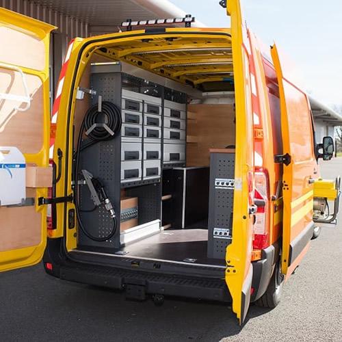 Officina mobile per assistenza e riparazioni in loco