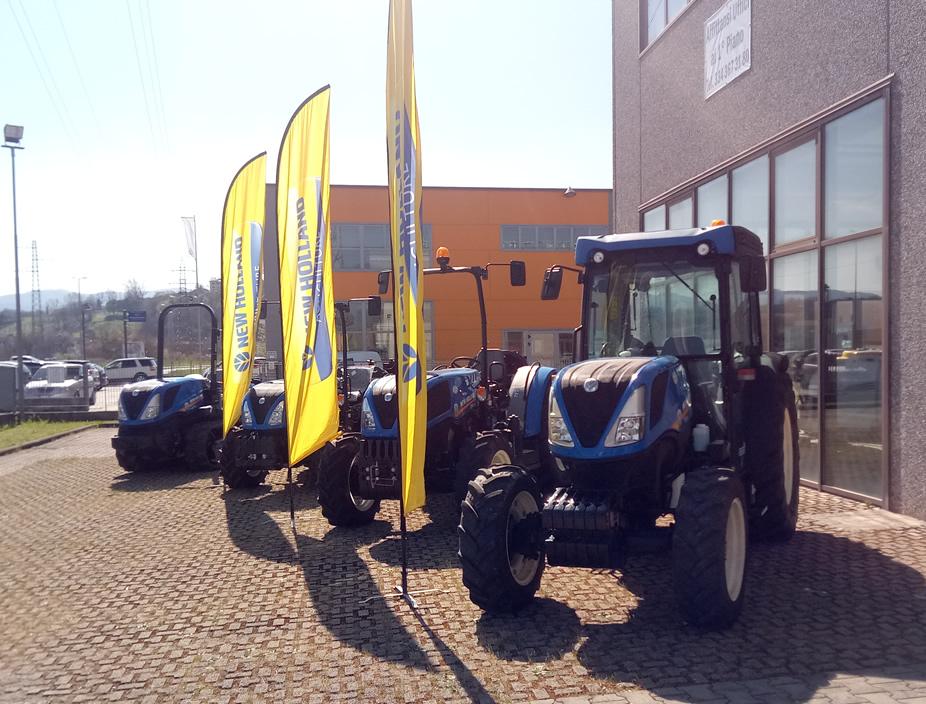 Gamma trattori New Holland nuovi