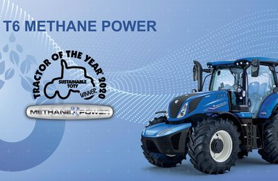 """TRACTOR OF THE YEAR 2020"" NEW HOLLAND T6 Methane P."